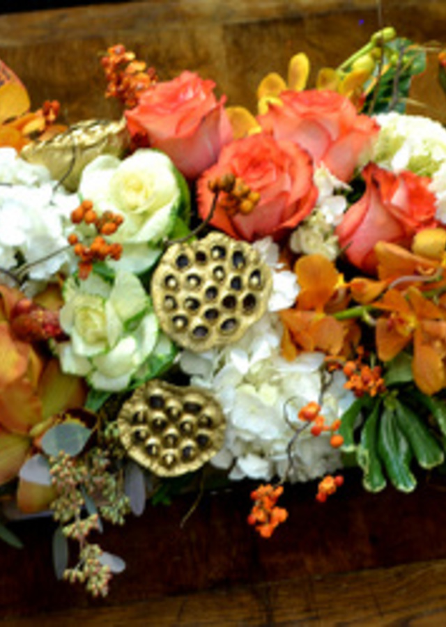Display of A Luxe Thanksgiving by The Flower Alley