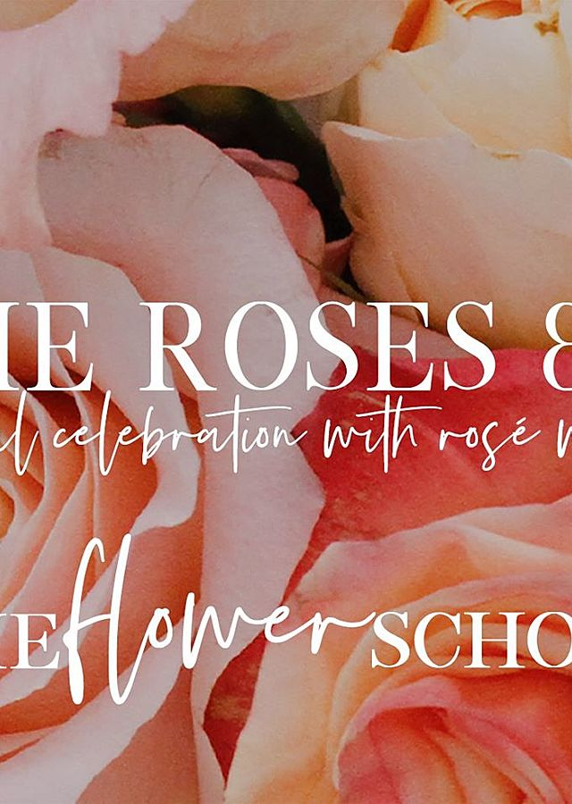 All The Roses + Rose : Sept 18th by The Flower Alley