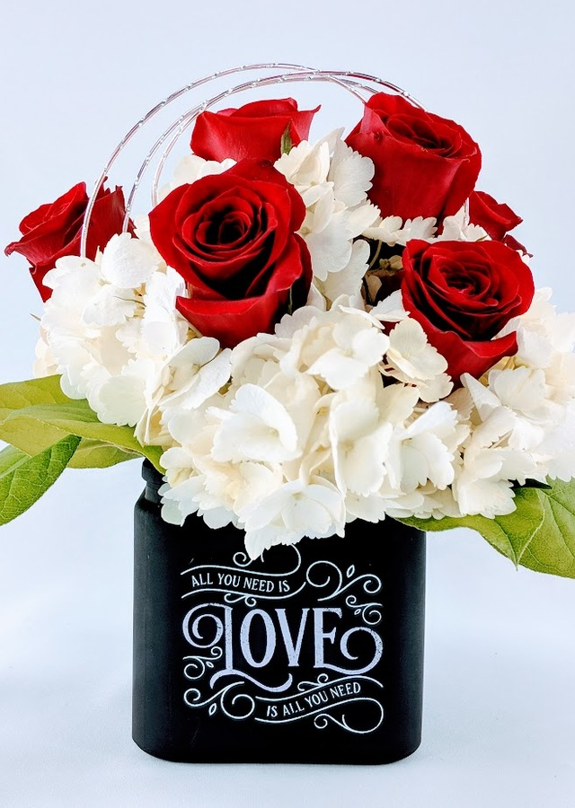 All You Need Is Love Bouquet by The Flower Alley