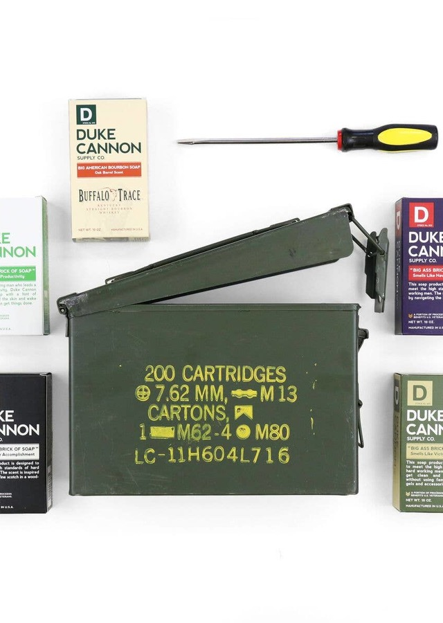 Display of Ammo Can Gift Set - Save $18.75 by The Flower Alley