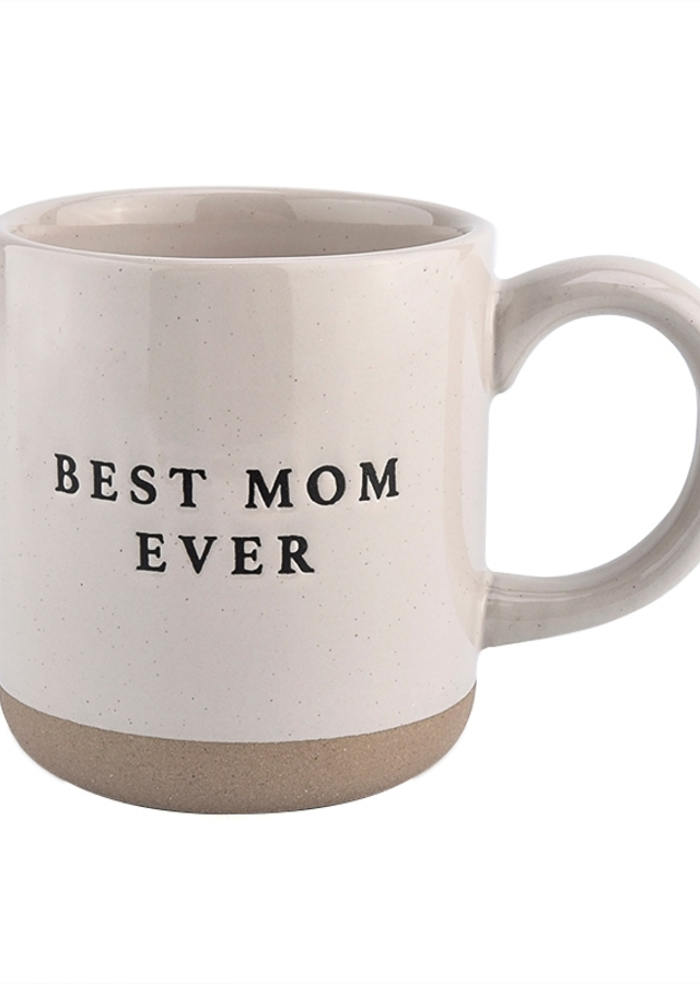 Best Mom Ever Mug by The Flower Alley