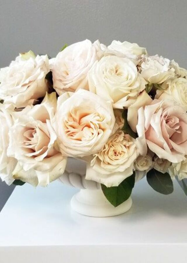 Display of Blush Collection: Large Centerpiece by The Flower Alley