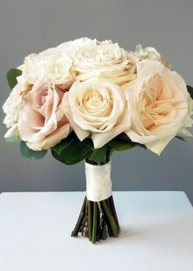 Blush Collection: Medium Bouquet by The Flower Alley