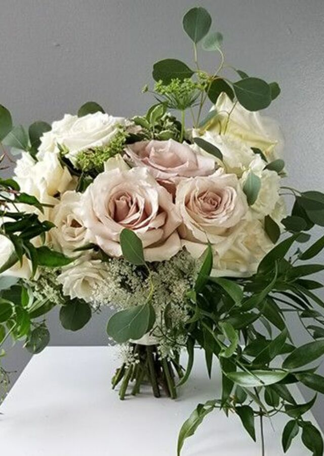 Blush Garden: Large Bouquet by The Flower Alley