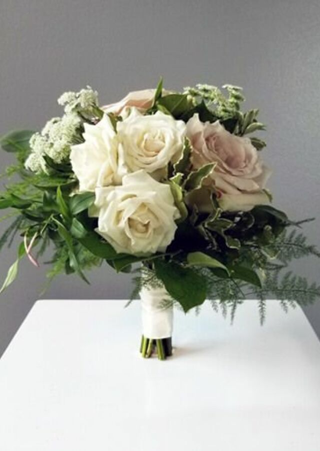 Display of Blush Garden: Small Bouquet by The Flower Alley