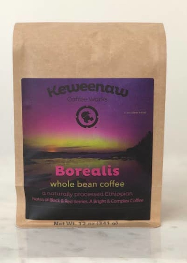 Display of Borealis (12oz) Ground Coffee by The Flower Alley