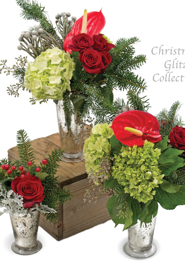 Christmas Glitz Collection by The Flower Alley