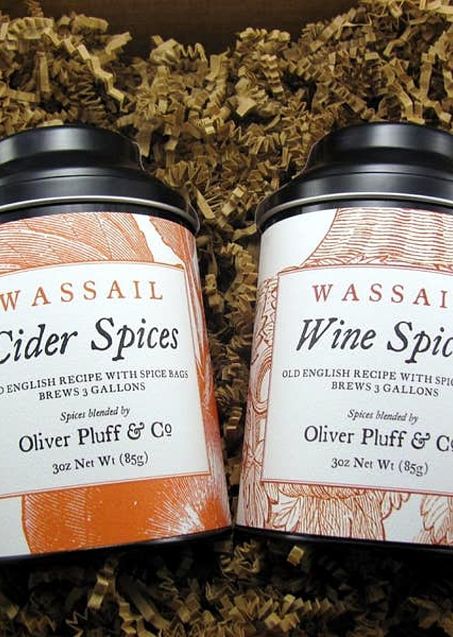 Display of Cider and Wine Spices - Holiday Kit by The Flower Alley