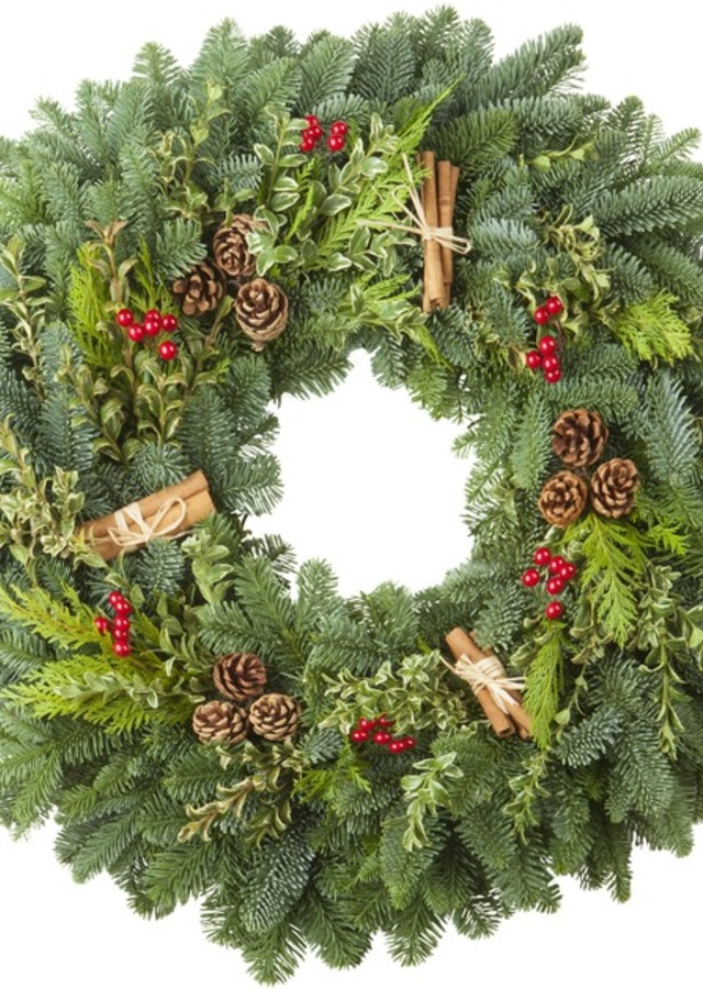 """Cinnamon Spice, 24"""" Wreath by The Flower Alley"""