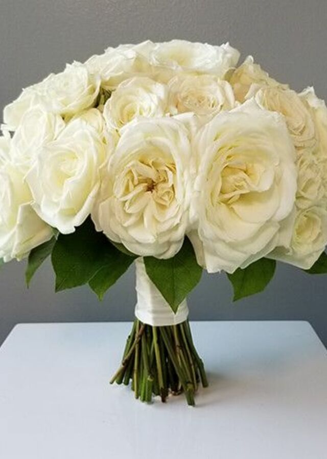 Display of Classic Roses: Large Bouquet by The Flower Alley