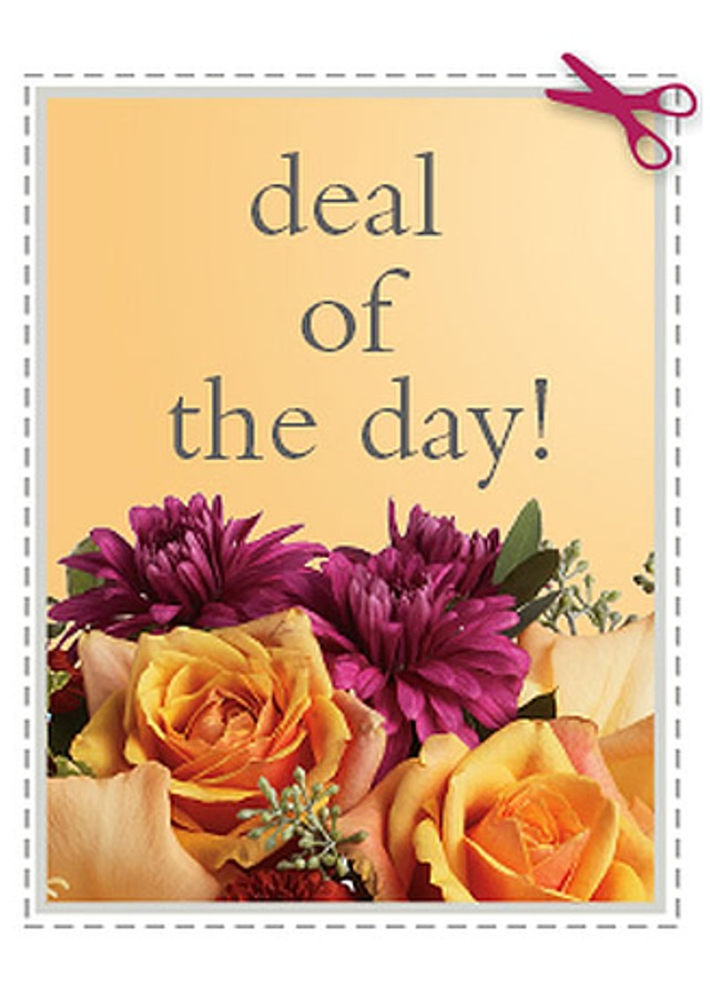 Display of Deal of The Day Bouquet by The Flower Alley