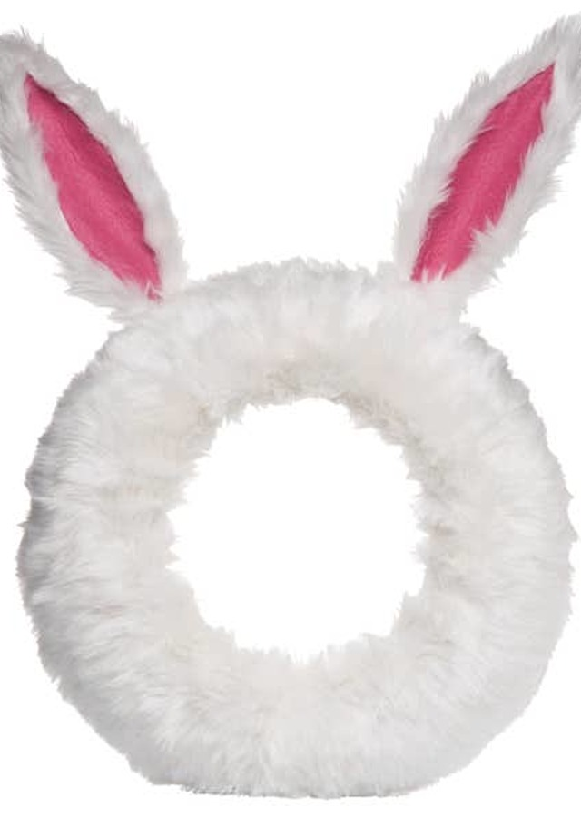 Easter Bunny Wreath by The Flower Alley