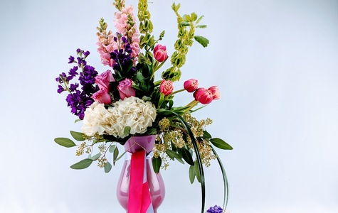 Display of Exquisite Beauty Bouquet by The Flower Alley