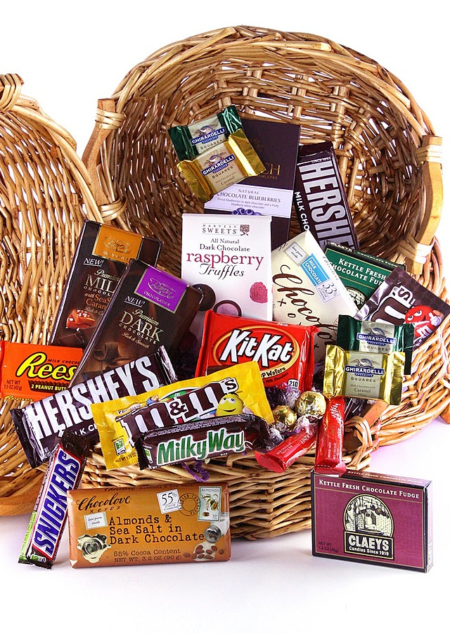 Exquisite Chocoholic Basket by The Flower Alley
