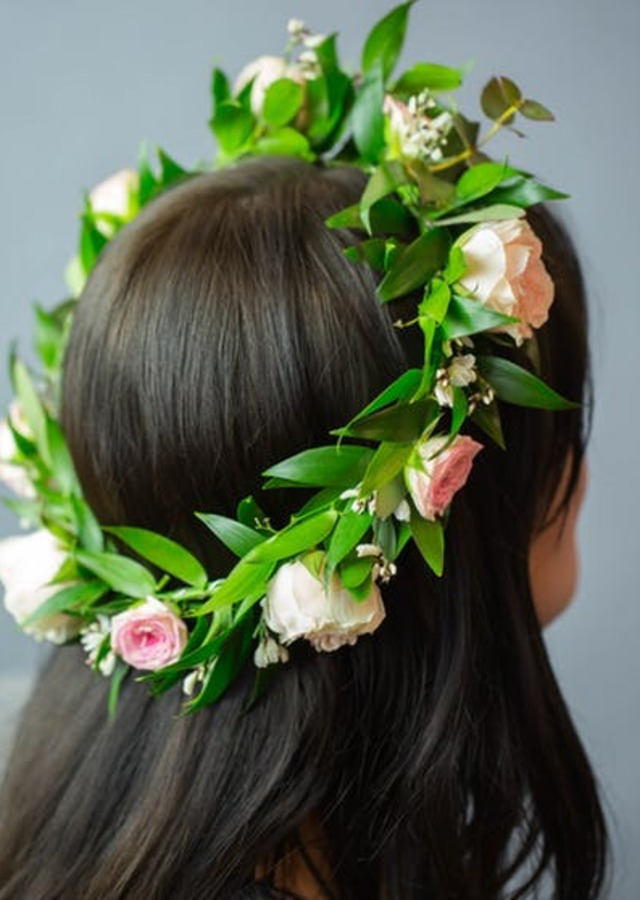 Fairytale Flower Halo by The Flower Alley