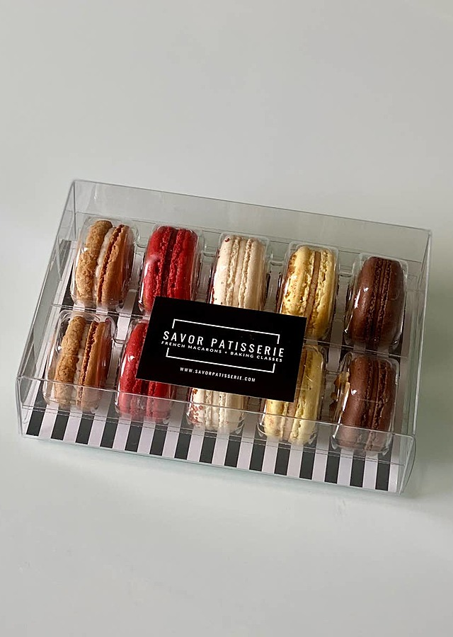 Fall Collection - 10 French Macarons by The Flower Alley