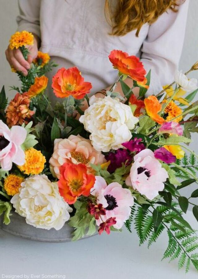 Display of Flower Subscription : 12 months (Luxury) by The Flower Alley