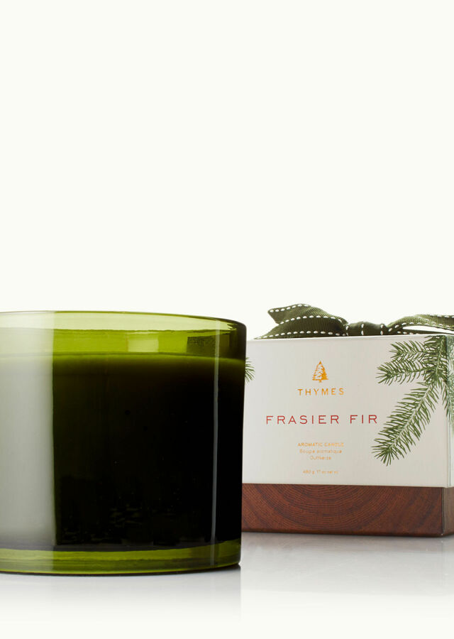 Display of Frasier Fir 3-Wick Candle by The Flower Alley