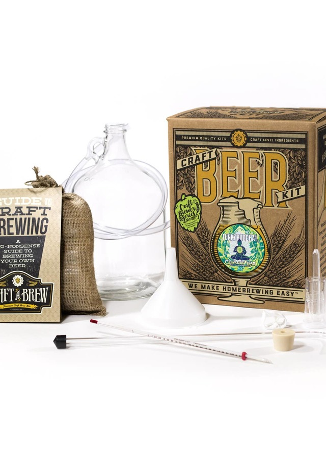 Display of Funky Buddha Chant IPA Brewing Kit by The Flower Alley