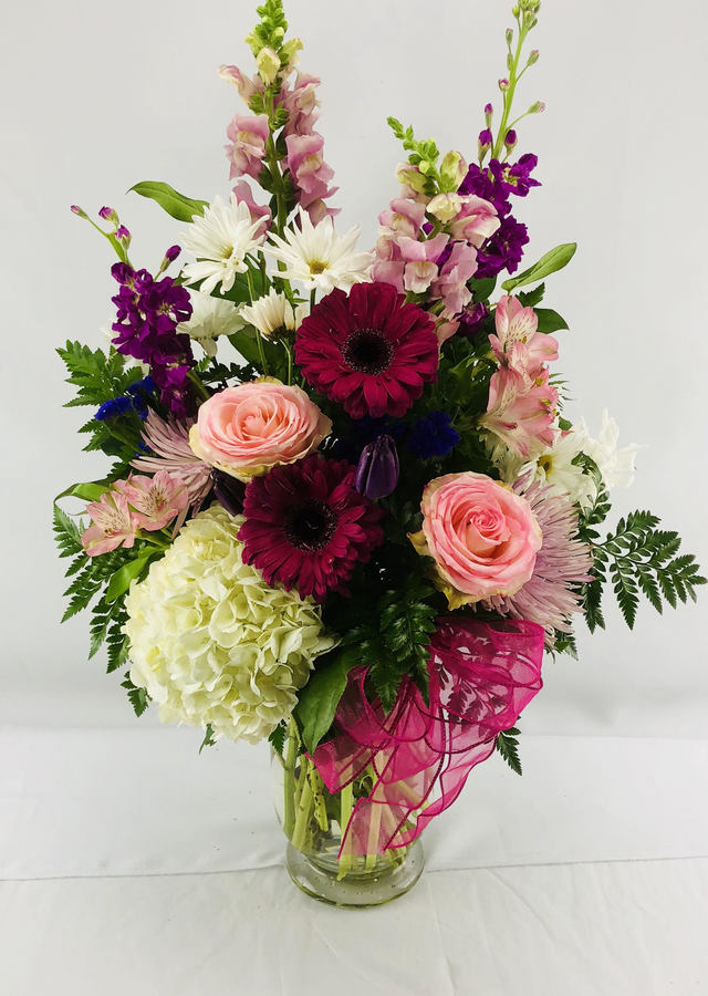 Display of Garden Fresh Bouquet by The Flower Alley