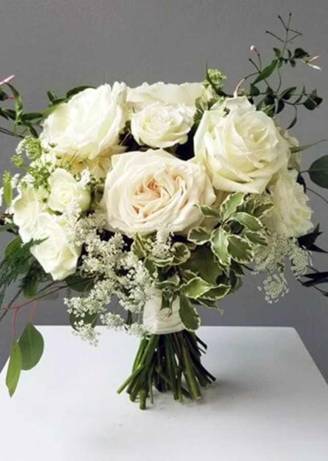 Display of Garden Style : Medium Bouquet by The Flower Alley