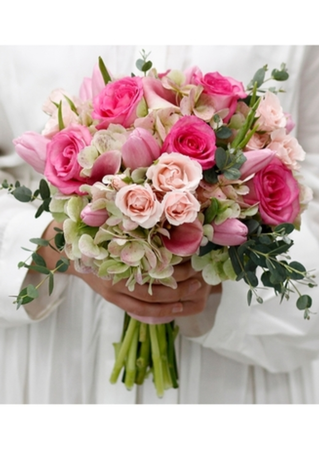 Display of Girly : Hand Tied Bouquet by The Flower Alley