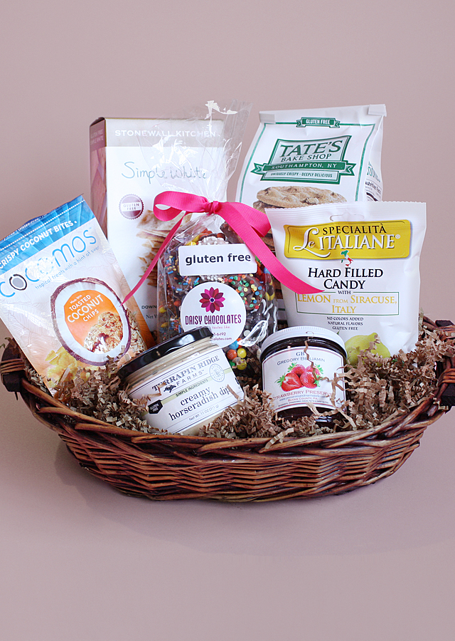 Display of Gluten Free Gourmet by The Flower Alley
