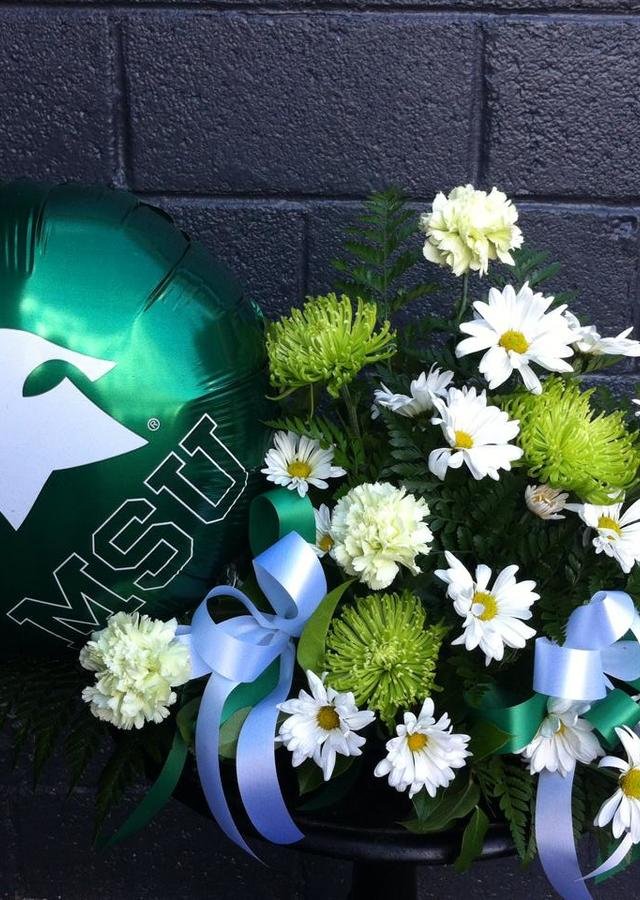 Go State! by The Flower Alley