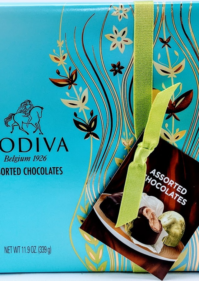 Godiva Belgian Chocolates Gift Box, Assorted, 27 Count 11.9oz. by The Flower Alley