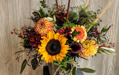 Display of Hello Fall by The Flower Alley