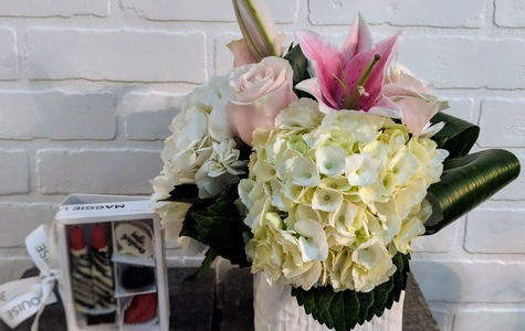 Display of Hello Gorgeous- Sweetest Day Combo by The Flower Alley