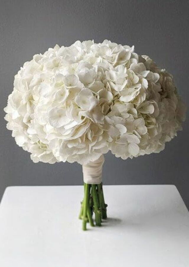 Hydrangea: Medium Bouquet by The Flower Alley