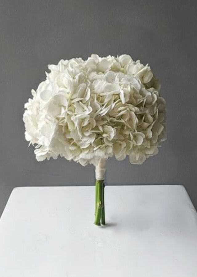 Display of Hydrangea: Small Bouquet by The Flower Alley