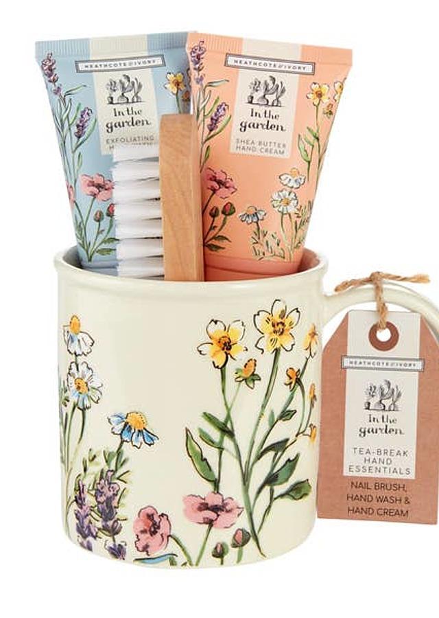 Display of In The Garden Tea-Break Hand Essentials by The Flower Alley