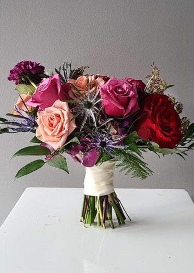 Jewel Collection: Small Bouquet by The Flower Alley