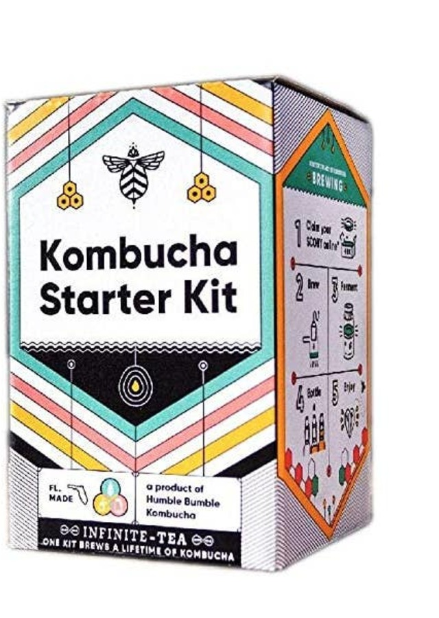 Display of Kombucha Starter Kit by The Flower Alley