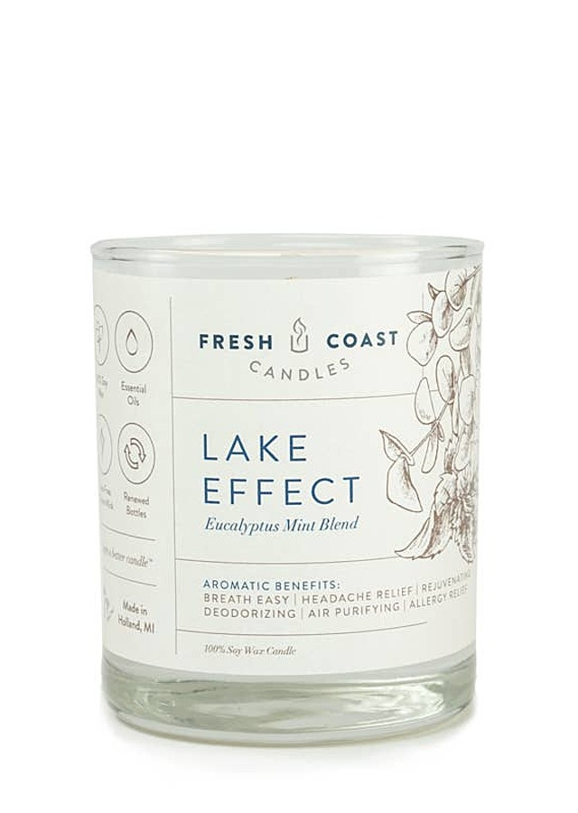 Display of Lake Effect Candle by The Flower Alley