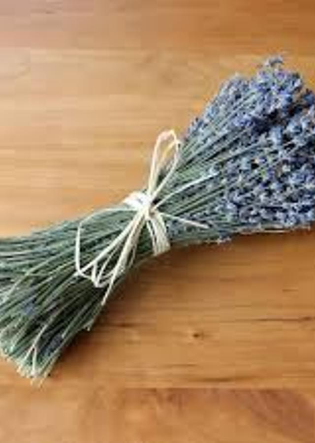Display of Lavender Dried Bundle by The Flower Alley