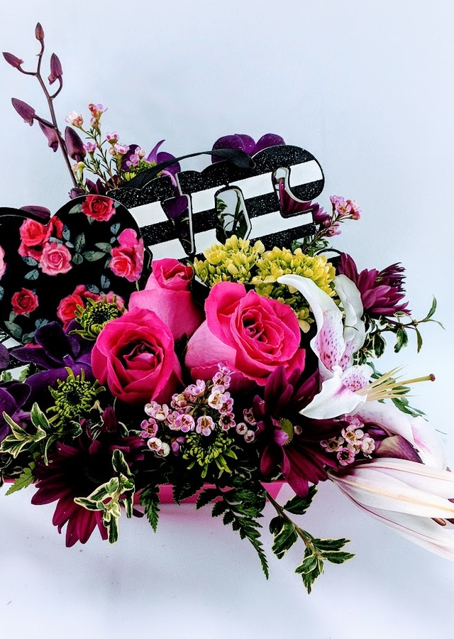 L-O-V-E Bouquet by The Flower Alley