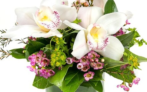 Display of Lovely Orchid Bouquet by The Flower Alley