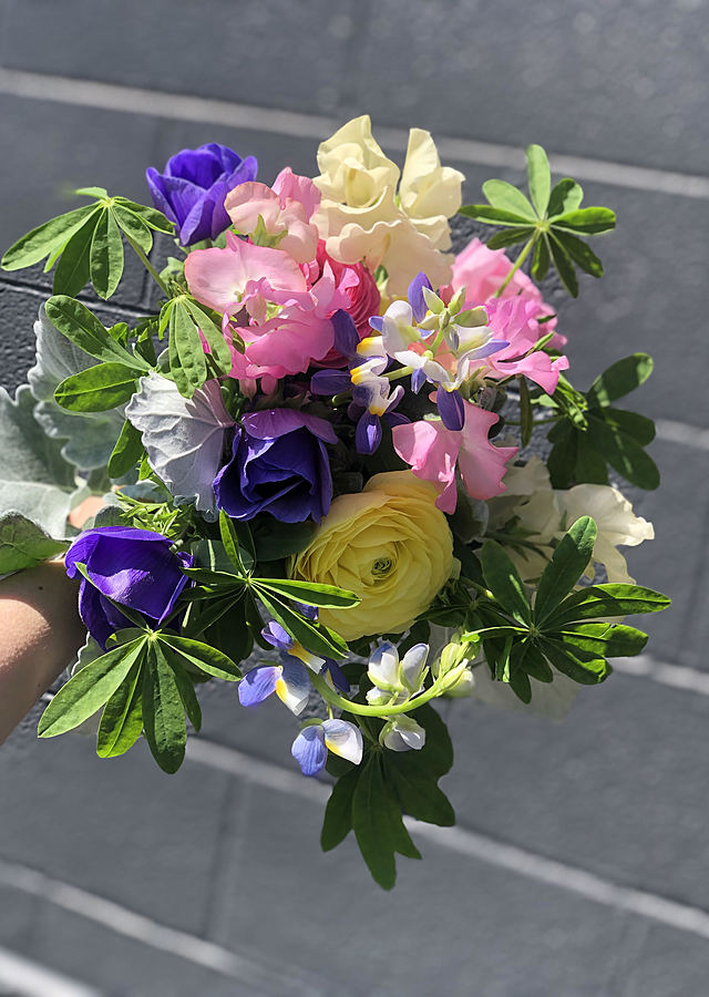 Display of Michigan Farm Bouquet (Pick Up Only) by The Flower Alley