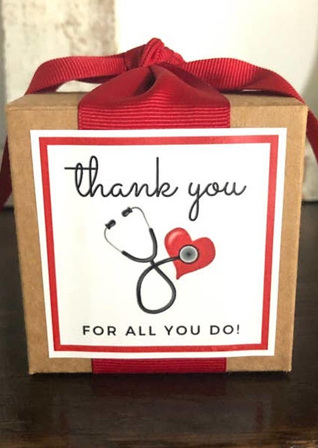 Nurse/Doctor Healthcare Appreciation Toffee by The Flower Alley