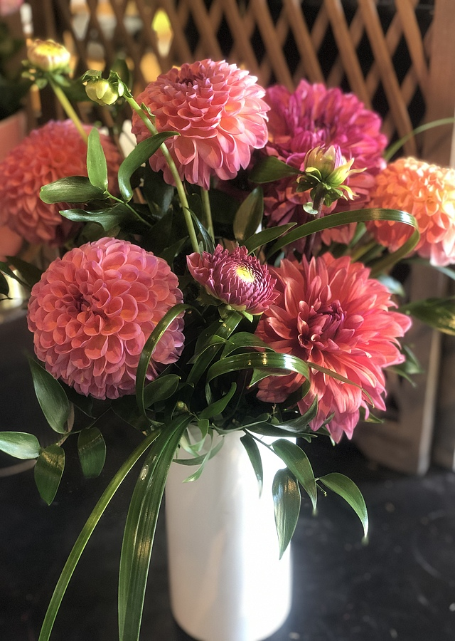 Oh, Darling Dahlia by The Flower Alley