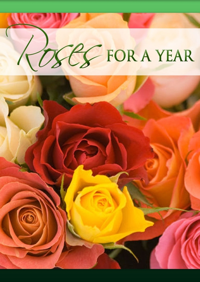 Roses For A Year by The Flower Alley
