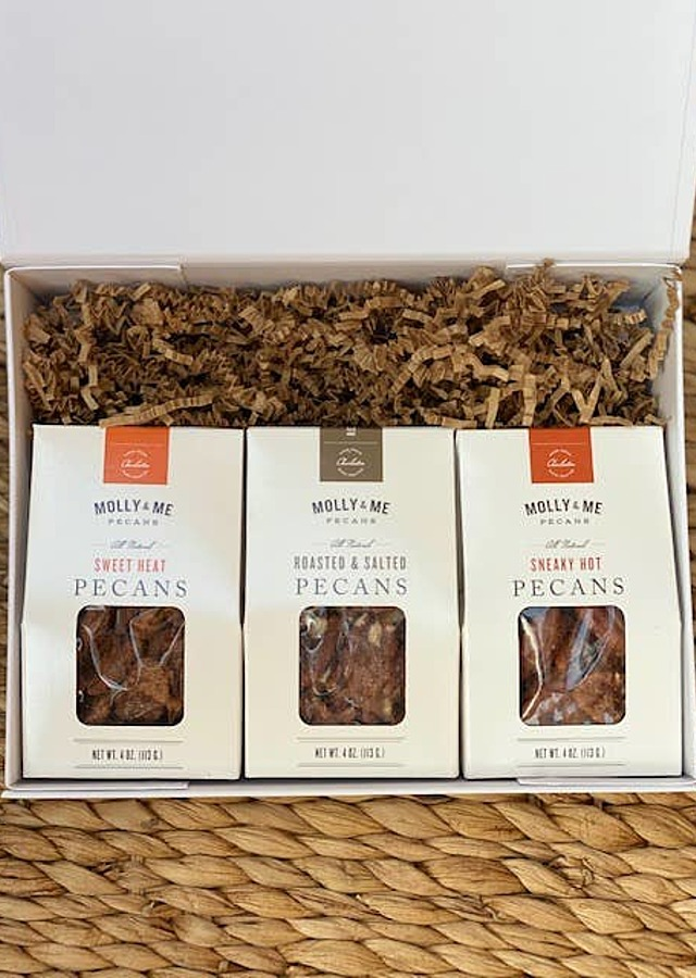 Display of Pecan Mini Gift Set by The Flower Alley
