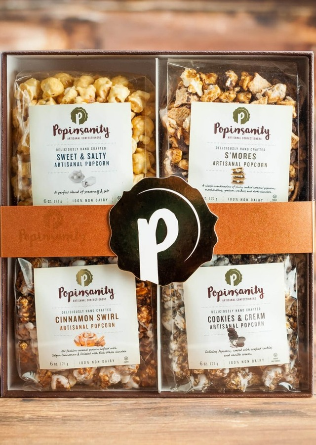 Popinsanity: 4 Pack Gift Box by The Flower Alley