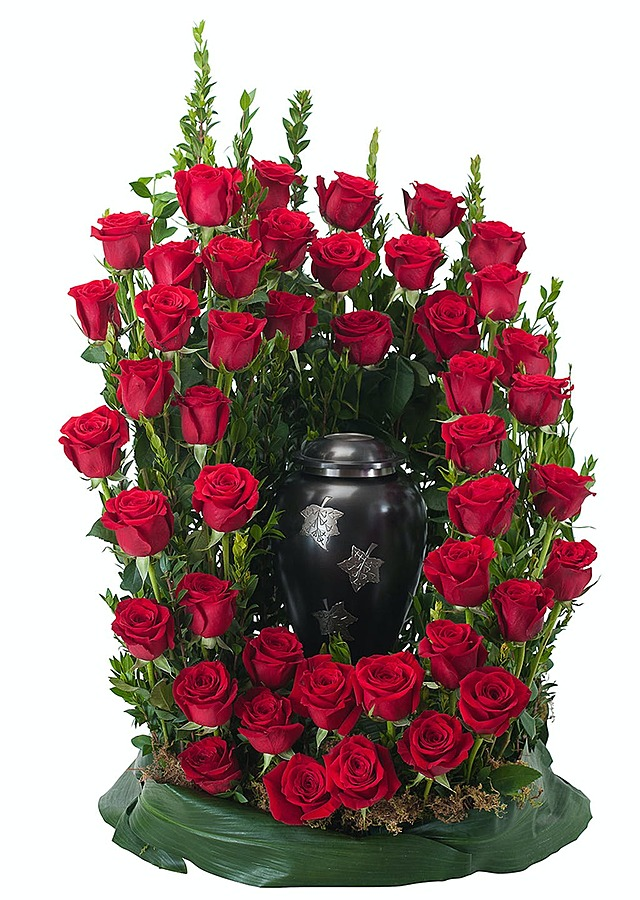 Display of Royal Rose Surrond by The Flower Alley