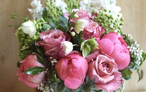 Display of Rustic Chic by The Flower Alley