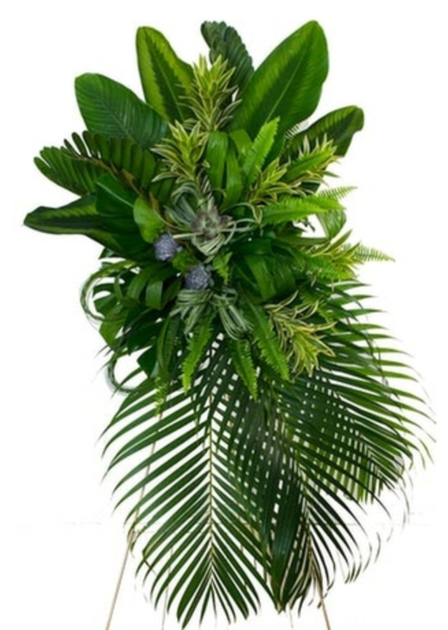 Display of Serenity | Green Spray by The Flower Alley