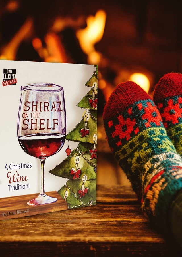 Display of Shiraz on the Shelf, A New Holiday Tradition - Save $10.50 by The Flower Alley